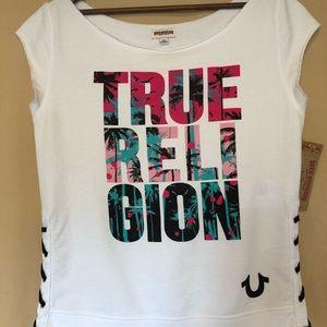 Tops - True Religion fleece top